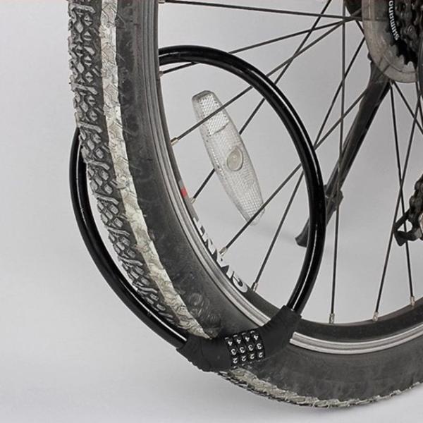自転車用 ケーブルロック ワイヤーロック ダイヤル式 4桁 ダイヤル番号自由設定 カラフル かわいい 小型軽量 全5色|peachcraft|04