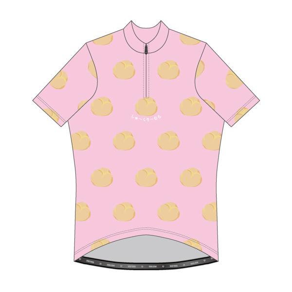 しゅ〜くり〜む 半袖ジャージ ピンク|pearlizumi-original