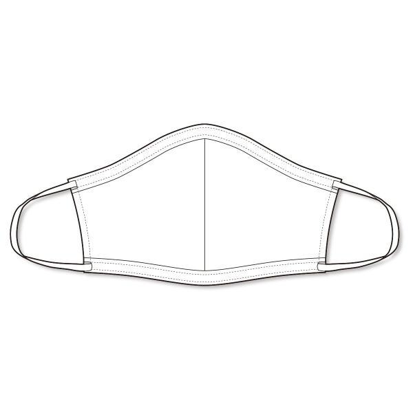 マスク 日本製 洗える 布マスク PEARL IZUMI  蒸れにくい 涼しい 通勤 通学 も安心|pearlizumi-original|05