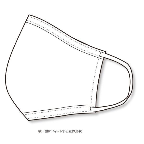 マスク 日本製 洗える 布マスク PEARL IZUMI  蒸れにくい 涼しい 通勤 通学 も安心|pearlizumi-original|06