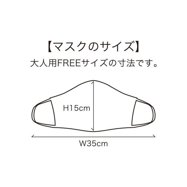マスク 日本製 洗える 布マスク PEARL IZUMI  蒸れにくい 涼しい 通勤 通学 も安心|pearlizumi-original|07