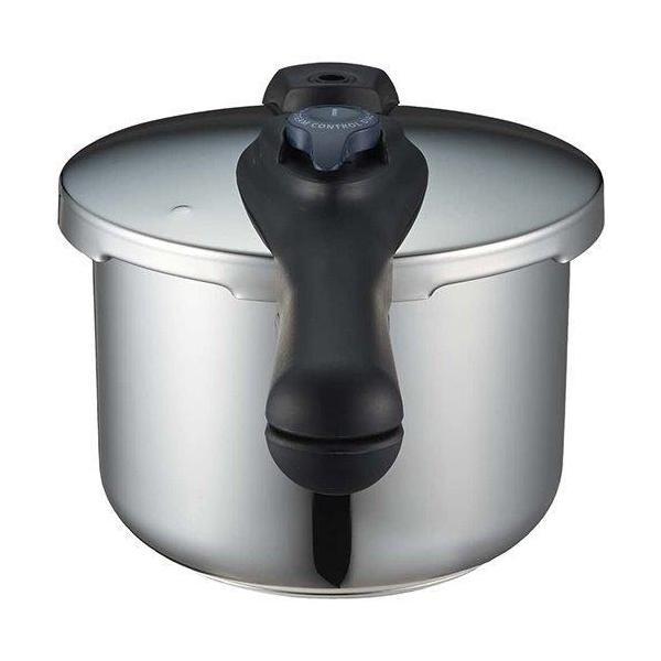圧力鍋 使いやすい 4.5L IH対応 3層底 切り替え式 レシピ付 クイックエコ H-5041 パール金属 パール金属|pearlmetal|06