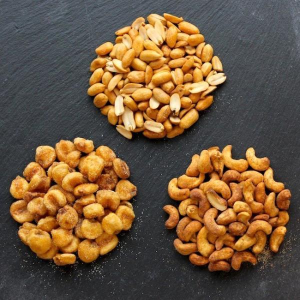 燻製ピーナッツ,燻製ジャイアントコーン,燻製カシューナッツ セット|peatmoresmoke
