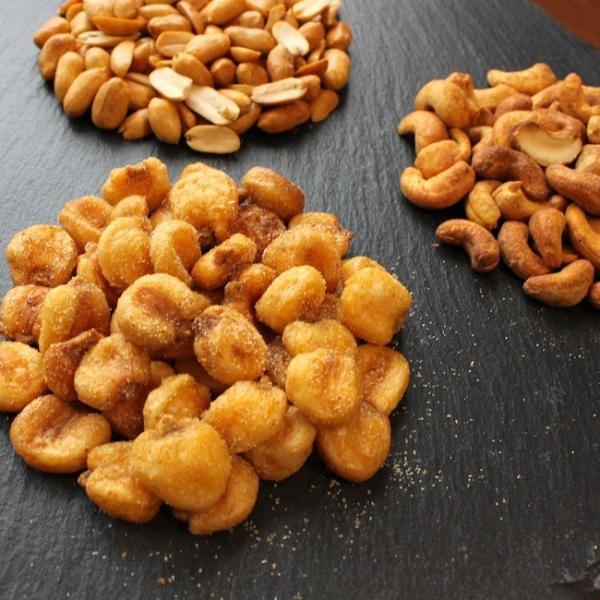 燻製ピーナッツ,燻製ジャイアントコーン,燻製カシューナッツ セット|peatmoresmoke|02
