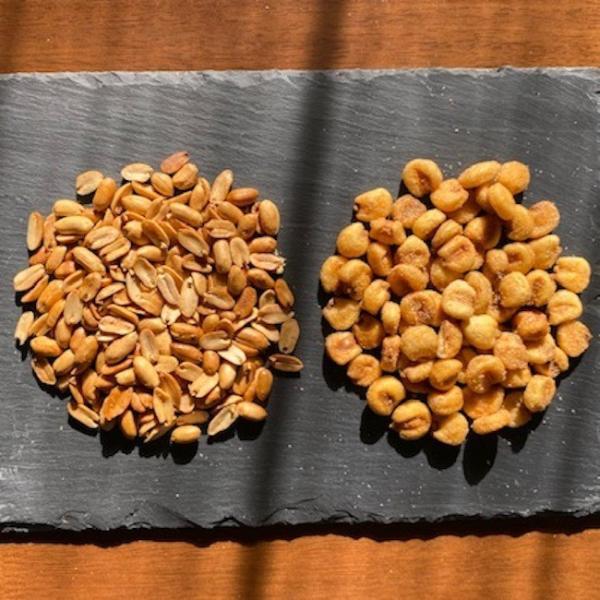 ピート燻製ピーナッツ&燻製ジャイアントコーン 2袋セット|peatmoresmoke|02