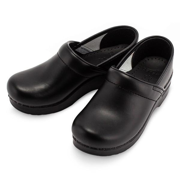 ダンスコ Dansko プロフェッショナル 靴 コンフォートシューズ クロッグス サボ ボックスレザー 厚底