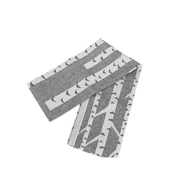 Lapuan Kankurit ラプアンカンクリ Towel タオル 48x70cm KOIVU white-black ホワイトブラック 6097 ラプアン カンクリ