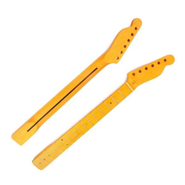 ネック22フレットメイプル指板フェンダーテレキャスタータイプ交換ギター