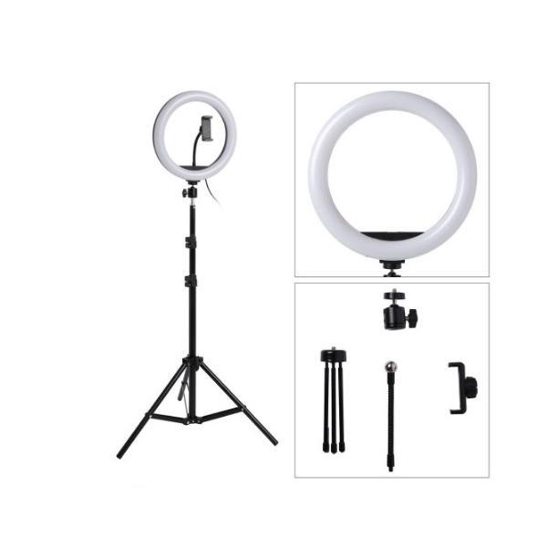自撮り棒 一脚 三脚 リングライト LED 三脚 110cm ライティング ユーチューブ 映像 写真 撮影 ライト 照明 リング サークル スマホ