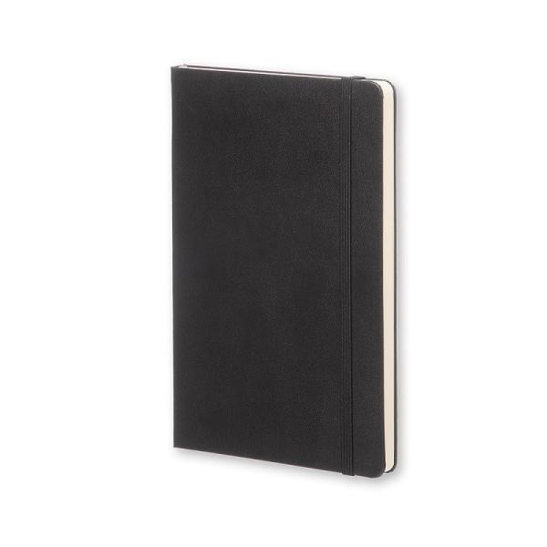 ノート 手帳 MOLESKINE モレスキン クラシックノート ハードカバー ドット 横罫 方眼 無地 ブラックL pellepenna 02