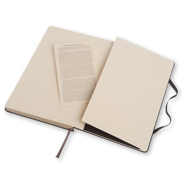 ノート 手帳 MOLESKINE モレスキン クラシックノート ハードカバー ドット 横罫 方眼 無地 ブラックL pellepenna 04