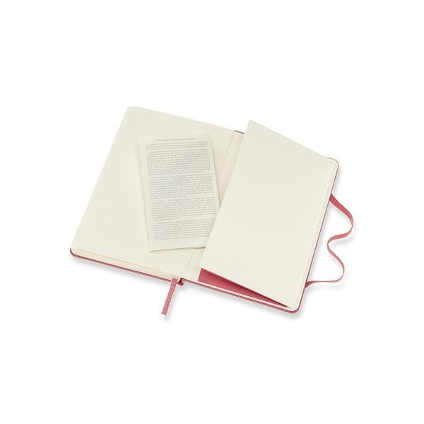 ノート 手帳 MOLESKINE モレスキン カラーノート ハードカバー 横罫 無地 デイジーピンク P|pellepenna|04