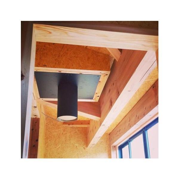 天井用眼鏡板 薪ストーブ二重断熱煙突用部材|pelletman|03