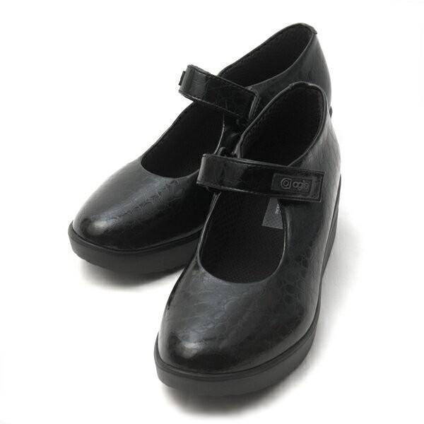 ルコライン アージレ agile RUCO LINE 靴 BABY CROCO ストラップ/黒 agile-202|pendant|04