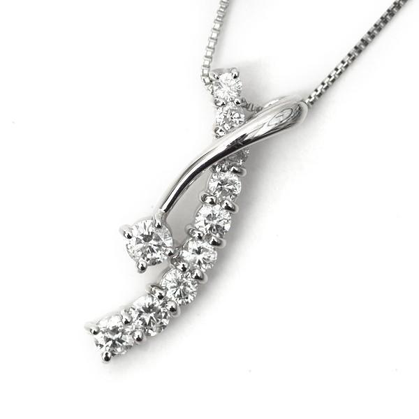 天然 ダイヤモンド ネックレス プラチナ ペンダント Pt 0.5カラット プレミアム エレガント スイートテン|pendant|10