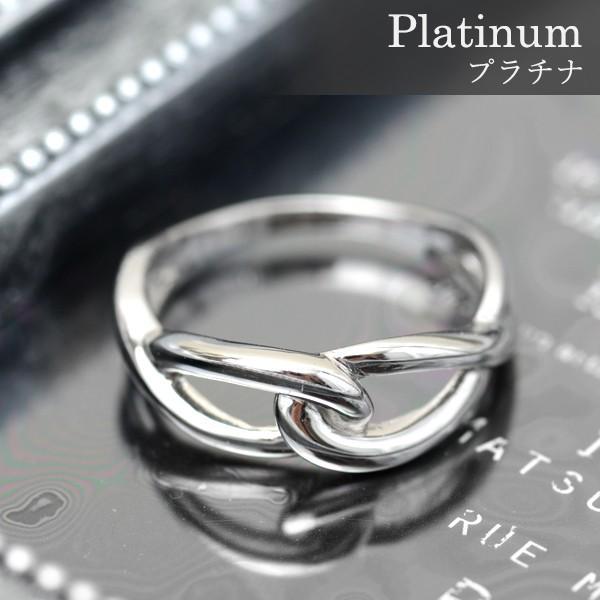 プラチナ 指輪 プラチナリング Pt900 インフィニティ モチーフ デザイン リング|pendant|02