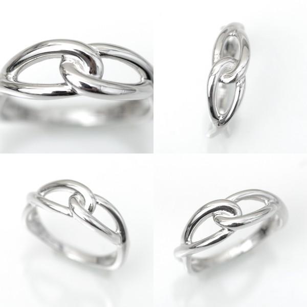 プラチナ 指輪 プラチナリング Pt900 インフィニティ モチーフ デザイン リング|pendant|06
