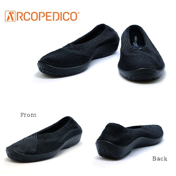 アルコペディコ 靴 MAILU SPORT マイル スポーツ ブラック 黒 ARCOPEDICO エリオさんの靴 クラシックライン フラットタイプ 3cmヒール ポルトガル製|pendant|03