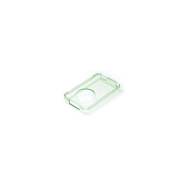 パワーサポート iPod5G・30G用クリスタルジャケット、保護フィルムセット、ガラスカラー XJ-52