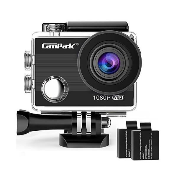 アクションカム 4k wifi搭載 スポーツカメラ 1080P ウェアラブルカメラ 2インチ アクションカメラ 170超広角度 30M防水カメラ C