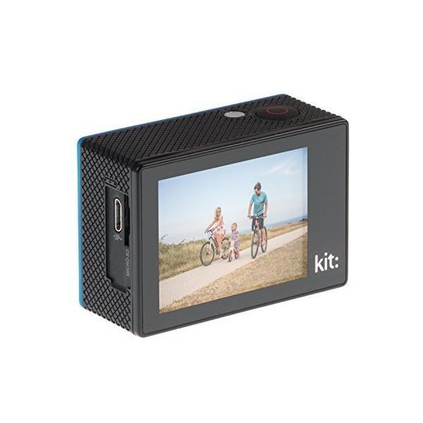 Kitvision キットビジョン Fresh アクションカメラ 720P Action Camera 浮遊性フローティンググリップ付き ピンク K