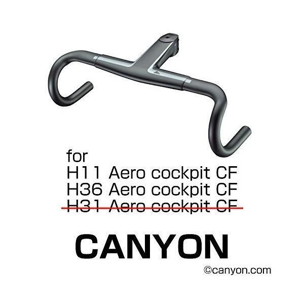 REC-MOUNTS(レックマウント) ポラール コンボ マウント CANYON 用 (H11/H36 AeroCockpit,下部アダプター付)[