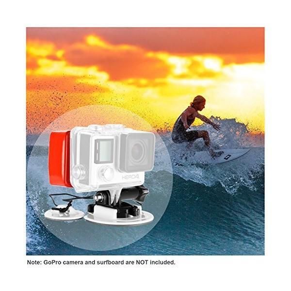 Neewer アクションカメラ用サーフィンマウントアクセサリキット GoPro Hero6 5 4 3 2 1、APEMAN、Lightdow、Cy