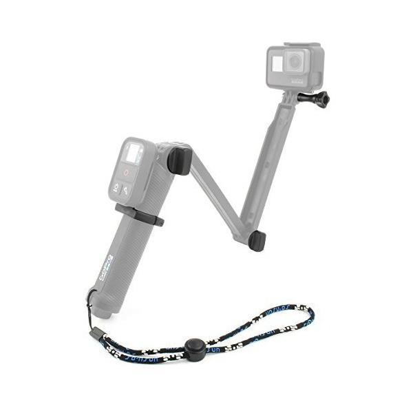 【Taisioner】GoPro用3Way自撮り棒アクセサリーセット WiFiリモコンクランプマウント+自撮り棒専用ネジ2本+長いネジ1本+短いネジ