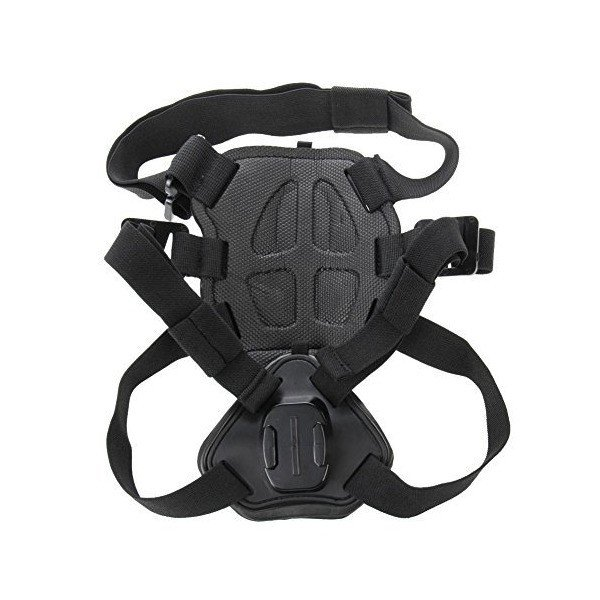JointVictory Hound Dog Harness Adjustable Chest Strap Mount Belt for GoPro