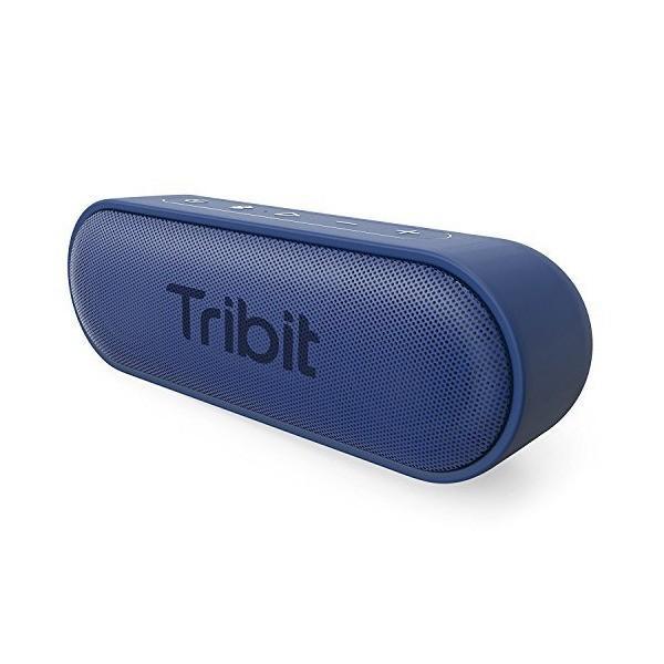 Tribit XSound Go Bluetooth スピーカー IPX7完全防水 12W ポータブルスピーカー 24時間連続再生 ブルートゥースス