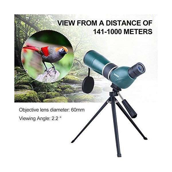 単眼鏡 YOUNGDO 16x50高倍率 望遠鏡 BAK4プリズム 超広角 高解像度 防水・曇り止め スマホホルダー めがね対応 アウトドア スポー