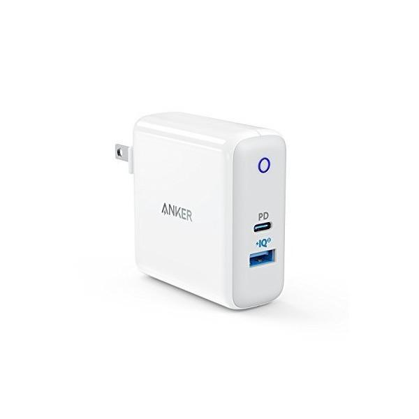 Anker PowerPort ll PD - 1 PD and 1 PowerIQ 2.0(USB-Cポート搭載 急速充電器)【PowerIQ 2|penguin-design