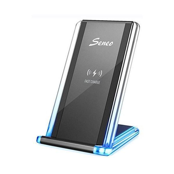 QI ワイヤレス充電器 Seneo 急速 ワイヤレスチャージャー iPhone 8 / iPhone 8 Plus/iPhone X/iPhone penguin-design