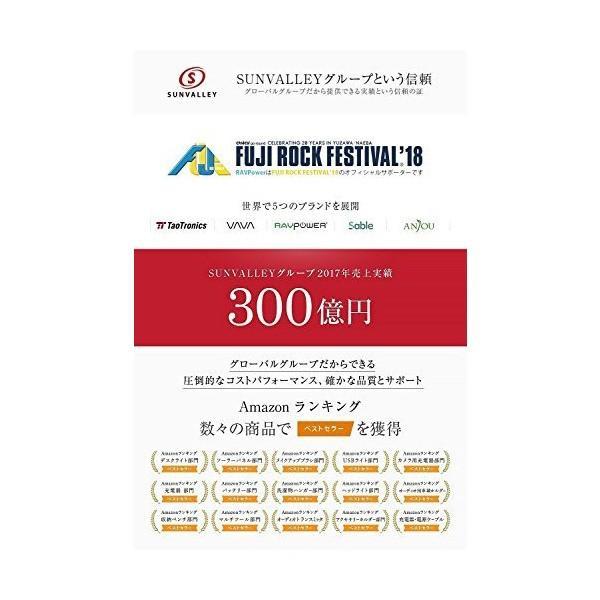 RAVPower Qi ワイヤレス充電器 急速 [Qi認証済み/10W/Fast Charge/最大30ヶ月保証] iPhone X/Xs/Xs M|penguin-design|02