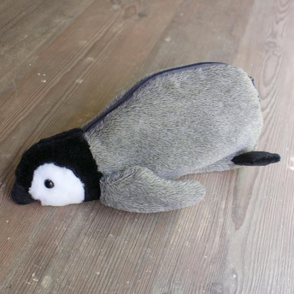 ヒナペンギンぬいぐるみポーチ(ペンギンかわいいポーチペンケース)