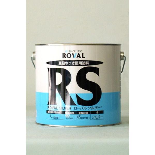 ローバルシルバー RS-3.5KG 塗料 ペンキ 防食 亜鉛メッキ ROVAL