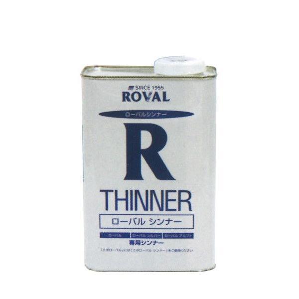 「ベロ付(注ぎ口)」ローバルシンナー RT-1L 塗料 ペンキ 防食 亜鉛メッキ ROVAL