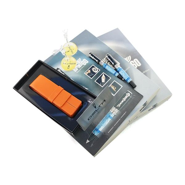 【DELTA / デルタ】2009年 限定品S/N 888 イスラエル 60 ボールペン 万年筆セット 【非売品付き】|penmeister|06
