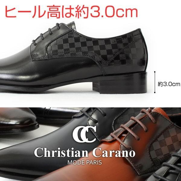 ビジネスシューズ 本革 日本製 革靴 メンズ ビジネス メンズ革靴 撥水 ChristianCarano クリスチャンカラノ LV11 LV12|pennepenne|05