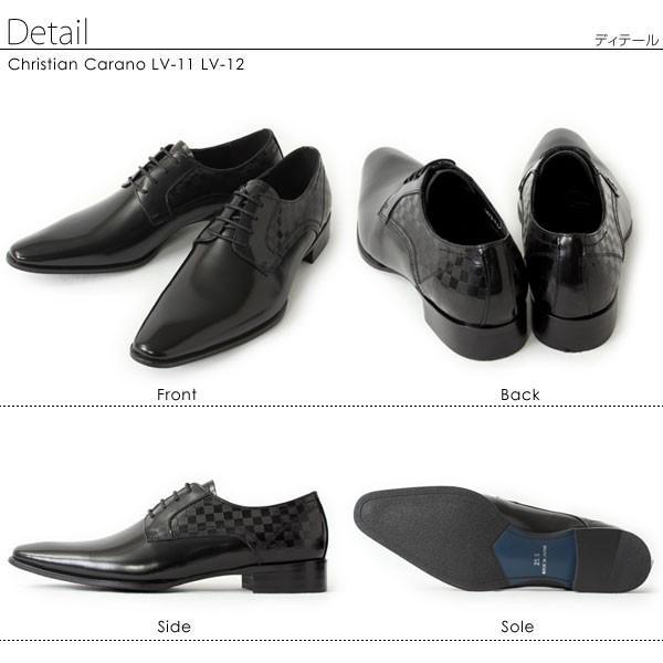 ビジネスシューズ 本革 日本製 革靴 メンズ ビジネス メンズ革靴 撥水 ChristianCarano クリスチャンカラノ LV11 LV12|pennepenne|06