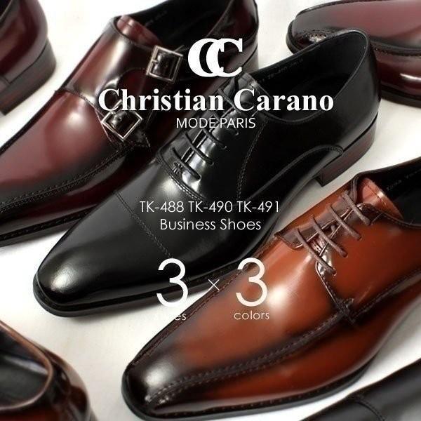 ローファー ビジネスシューズ 本革 日本製 革靴 メンズ ビジネス メンズ革靴 撥水 ChristianCarano クリスチャンカラノ TK-488 TK-490 TK-491|pennepenne