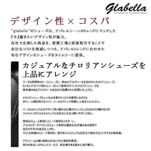 チロリアンシューズ メンズシューズ チロリアン レース glabella グラベラ pennepenne 05