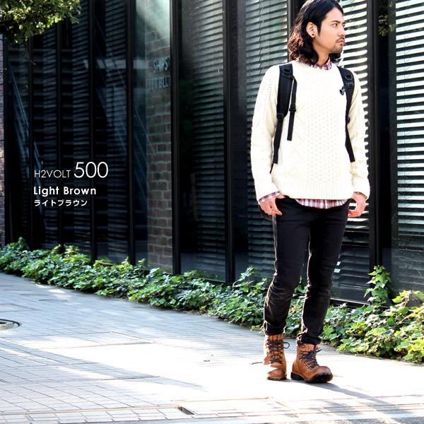 ブーツ メンズ メンズブーツ マウンテンブーツ エイチツーヴォルト H2VOLT500 ショートブーツ|pennepenne|11