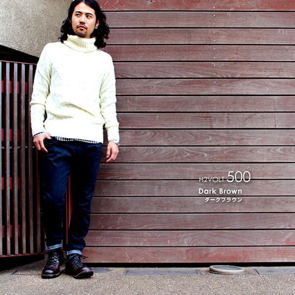 ブーツ メンズ メンズブーツ マウンテンブーツ エイチツーヴォルト H2VOLT500 ショートブーツ|pennepenne|12