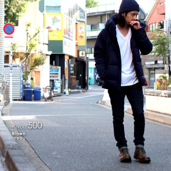 ブーツ メンズ メンズブーツ マウンテンブーツ エイチツーヴォルト H2VOLT500 ショートブーツ|pennepenne|09