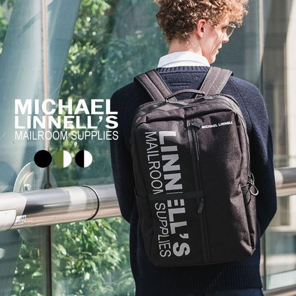 リュック スクエア バックパック 29L バッグ レディース メンズ 旅行 多機能 MICHAEL LINNELL マイケルリンネル MLBL-002 pennepenne
