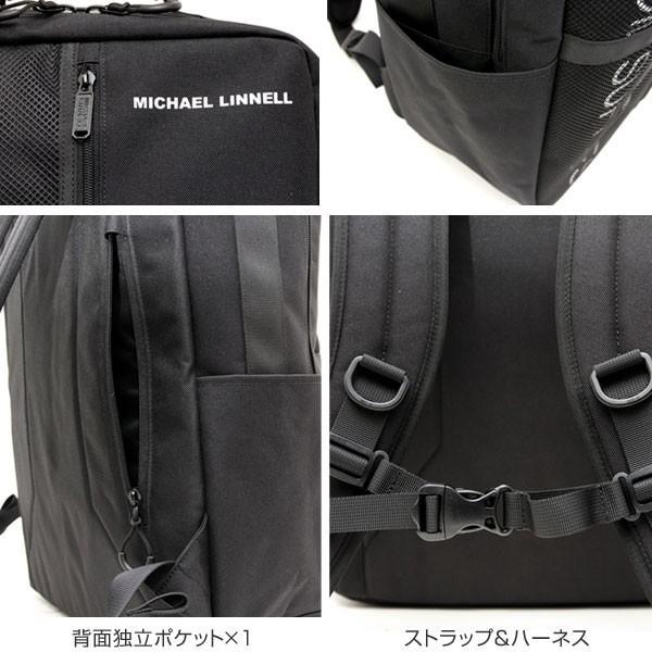 リュック スクエア バックパック 29L バッグ レディース メンズ 旅行 多機能 MICHAEL LINNELL マイケルリンネル MLBL-002 pennepenne 04