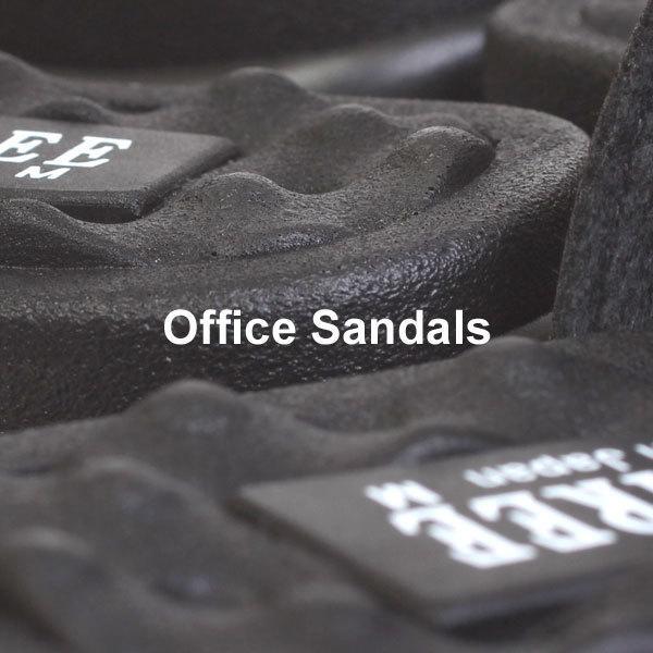 メンズ サンダル オフィスサンダル コンフォートサンダル ヘップサンダル ヒール3.5cm 外履き 室内履き オフィス M-THREE エムスリー ブラック チョコ 2040|pennepenne|08