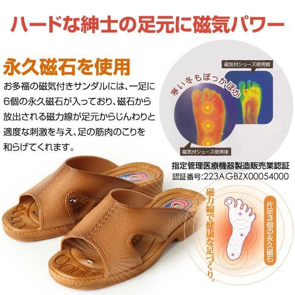 OTAFUKU お多福 オタフク メンズ サンダル 磁気付サンダル 日本製 ORIGINAL303 pennepenne 02