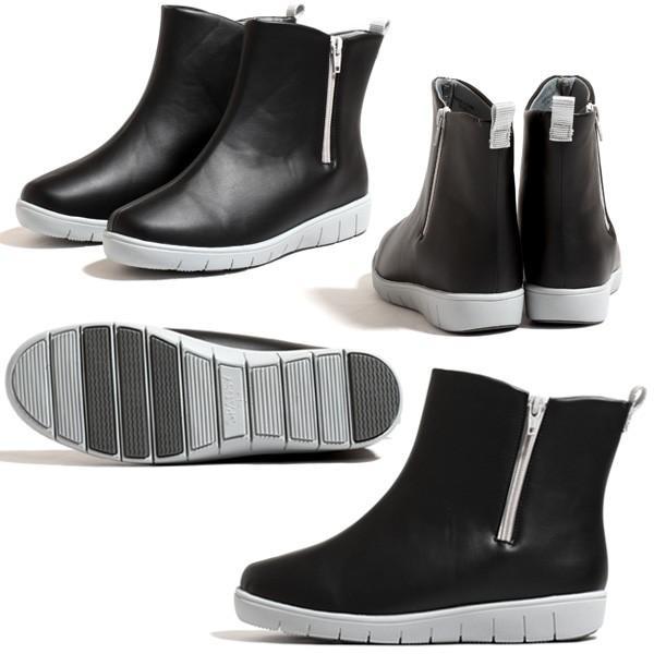 レディース レインブーツ 防水 抗菌 防臭 長靴 雨靴 黒 RAIN STEP レインステップ pansy パンジー 4944 pennepenne 02